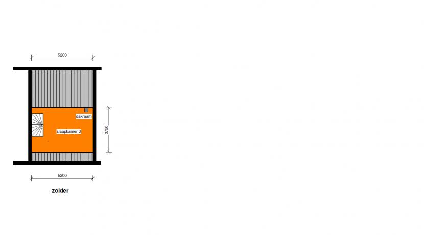 Verdieping 2 (zolder)